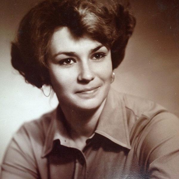 Мама Алены в молодости