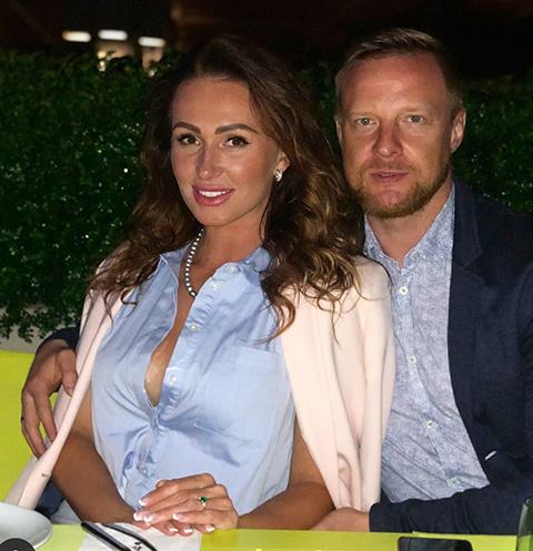 Вячеслав Малафеев с женой