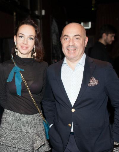 Супруга Михаила Грушевского пришла поддержать супруга на премьере