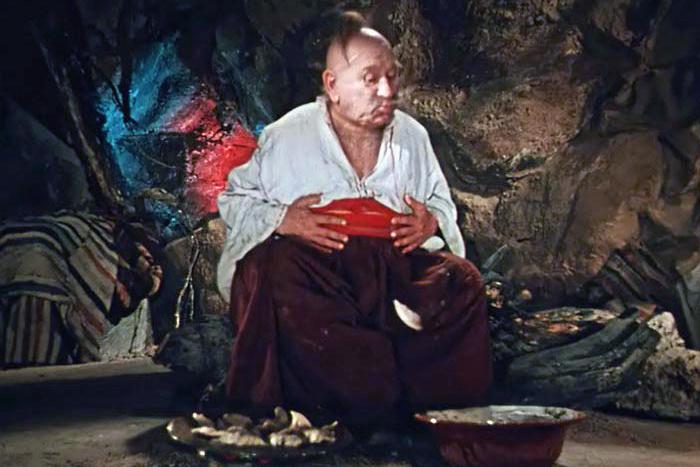 Сцена с поеданием вареников стала одной из самых запоминающихся в сказке