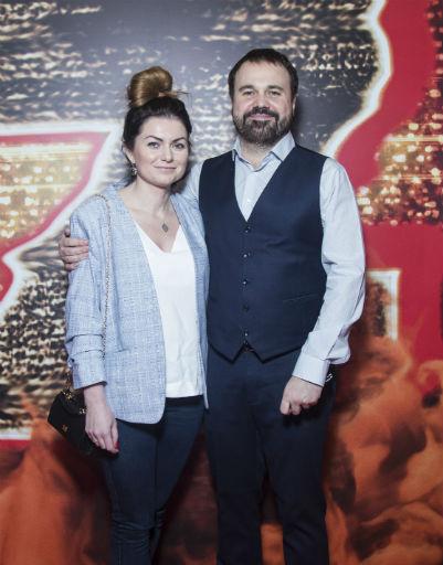 Антон Лирник с женой
