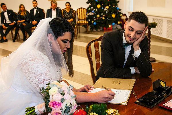 Свадьба Саши и Иосифа была год назад