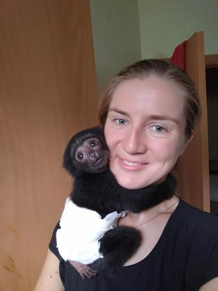 Елена посвятила жизнь помощи животным
