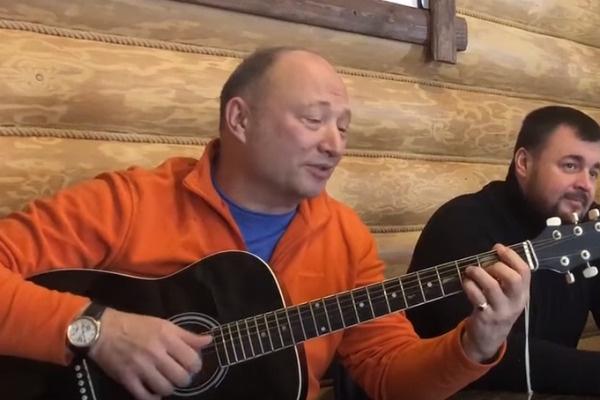 Юрий Гальцев приезжал к сыну в реабилитационный центр