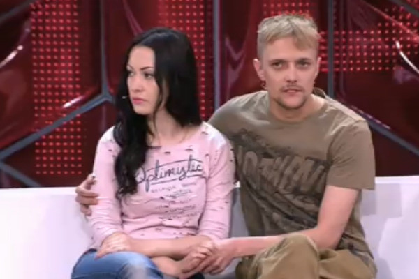 Сергей вместе с женой Юлией