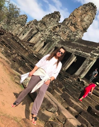 Екатерина Андреева ведет полный отчет из поездки по азиатской стране