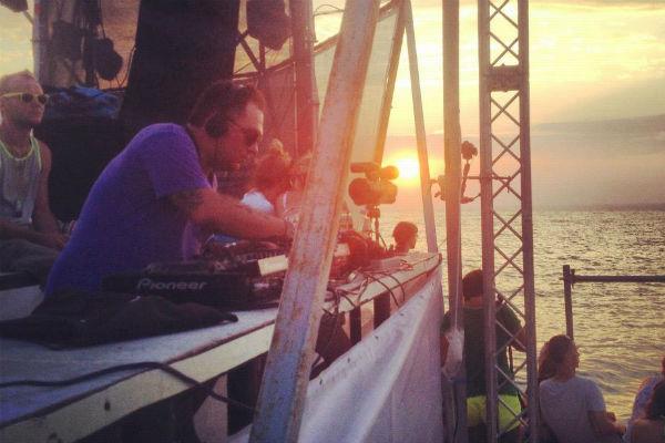DJ Град на фестивале КаZантип