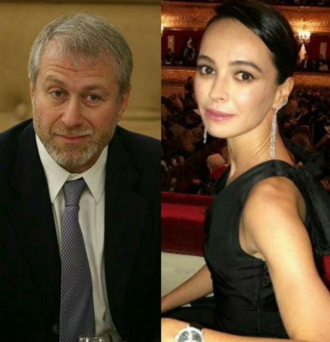 Роман Абрамович и Диана Вишнева