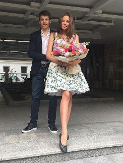 Алеся Кафельникова и Никита Новиков