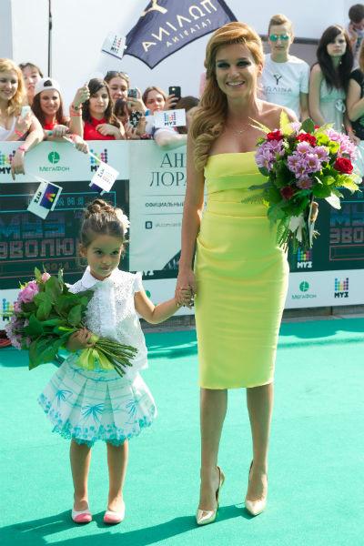 В интервью Бородина неоднократно подчеркивала, что семья является для нее главным в жизни