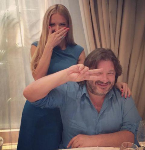 Юлия Михальчик поздравила Александра Шульгина с днем рождения