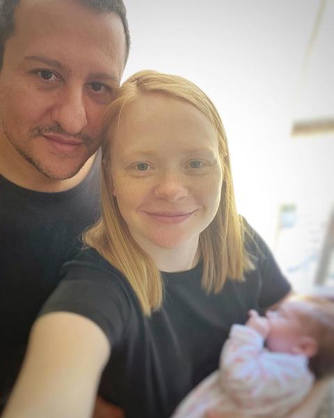 Актриса поделилась семейным снимком