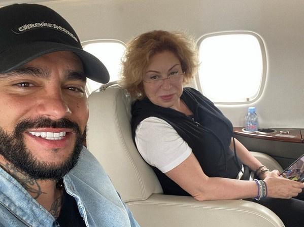 Тимати с мамой Симоной