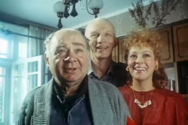 Последней ролью Евгения Леонова в кино стал герой комедии «Американский дедушка»