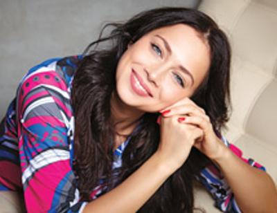 Настасья Самбурская: «Могу и вмазать, но у меня богатый словарный запас»