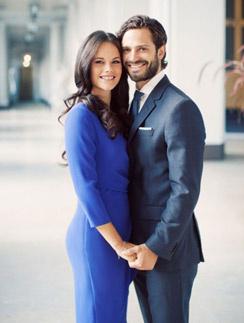 Шведский принц Карл Филипп с невестой Софией