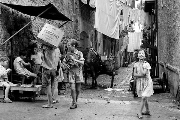 Элио Чиол «Быстро взрослеют», Палермо, 1957