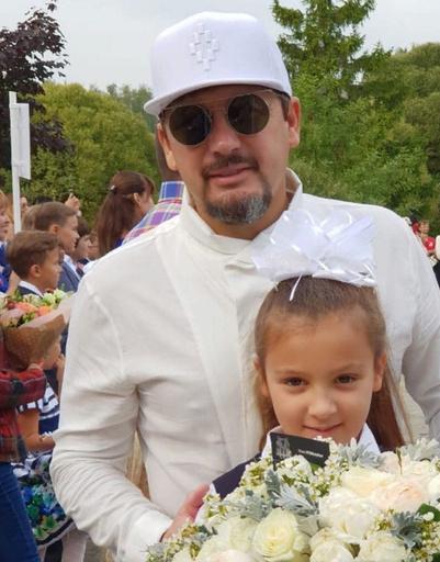 Стас Михайлов с дочерью