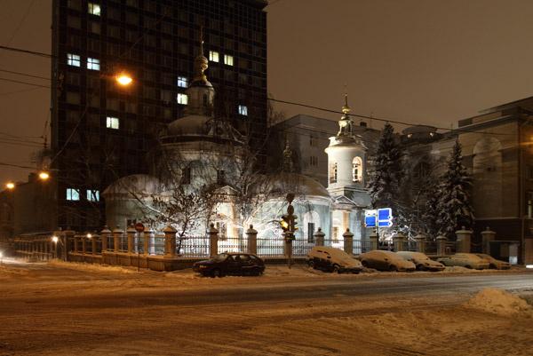 Храм Косьмы и Дамиана в Москве