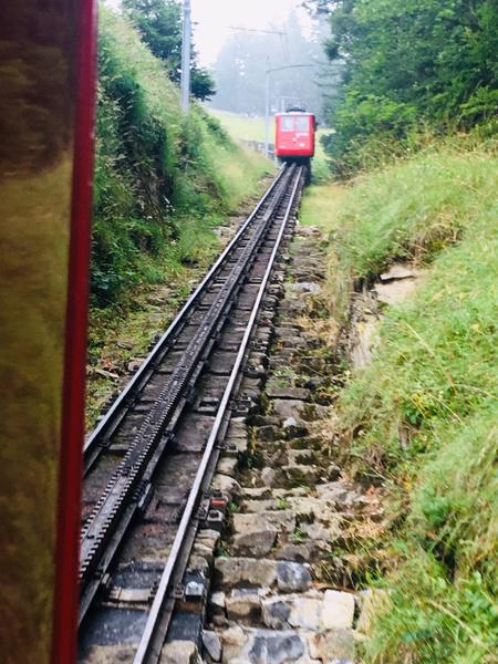 Самая крутая зубчатая железная дороге в мире перевезла первых туристов в 1889 году
