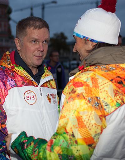 Андрей Малахов и Андрей Колесников