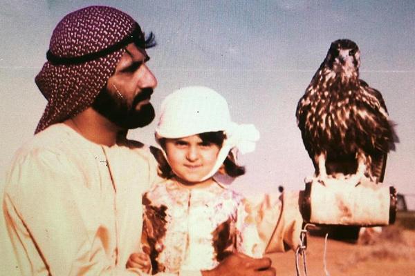 Шейх Мохаммед бен Рашид Аль Мактум с дочерью Манал