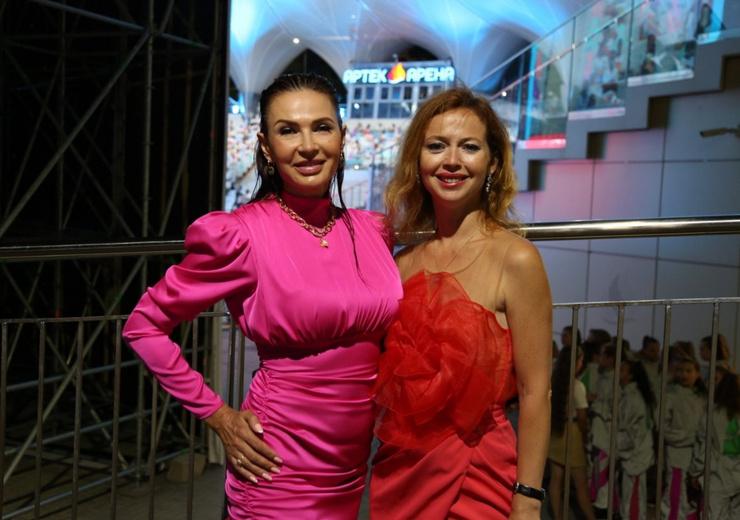 Эвелина Бледанс и Елена Захарова