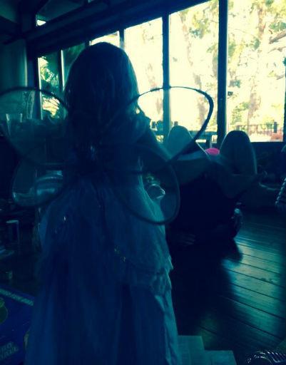 Дочка Пинк стала маленьким ангелом в волшебную ночь