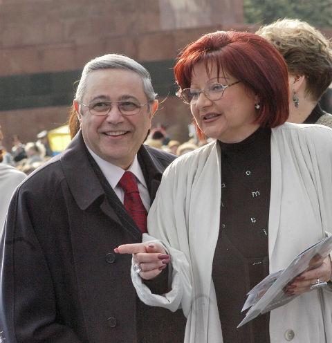 Елена Степаненко и Евгений Петросян
