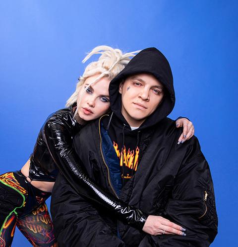 Виктор Попелеев и Дарья Шейко