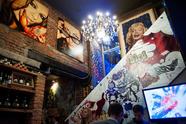 Интерьер киевского Leps Bar
