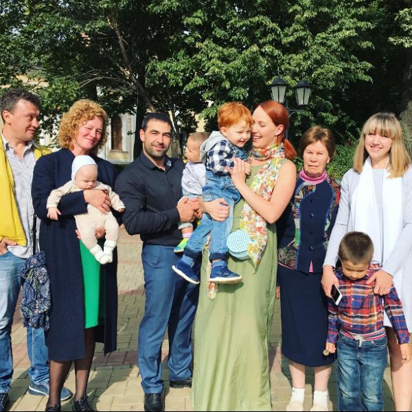Гости отпраздновали столь важное событие в жизни малыша