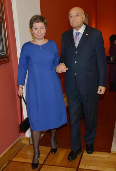 Владимир Этуш и его жена