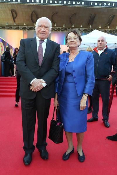 Лео Бокерия с супругой Ольгой Александровной