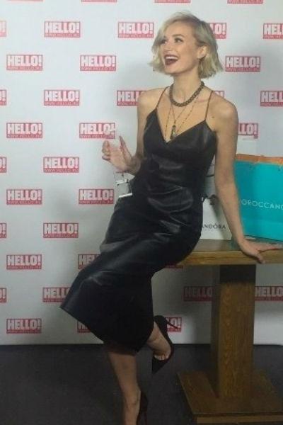 Победительница в номинации «Самая стильная женщина» Полина Гагарина