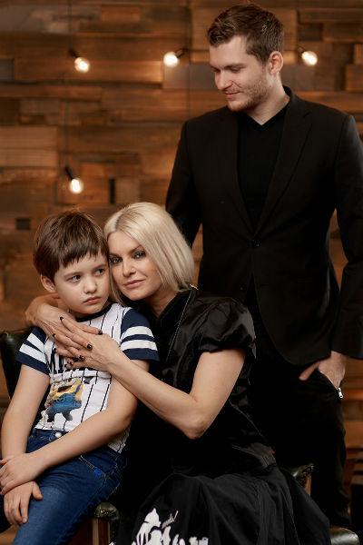 У Татьяны есть сын от первого брака