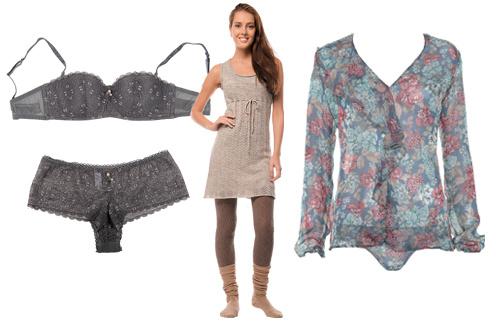 Intimissimi предлагает большой выбор уютной домашней одежды и нижнего белья.