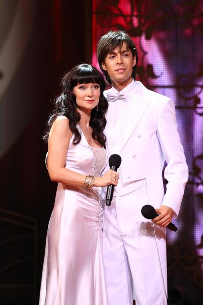 В паре с Марком Тишманом актриса блистала в шоу «Две звезды»