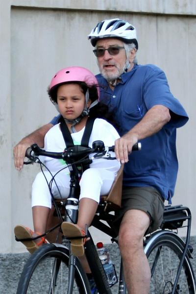 Роберт Де Ниро с дочерью