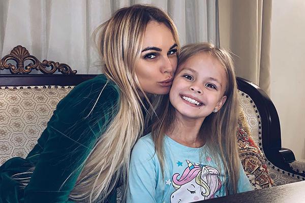 Ирина с дочерью Миланой