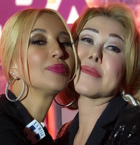 Лера Кудрявцева и Любовь Успенская