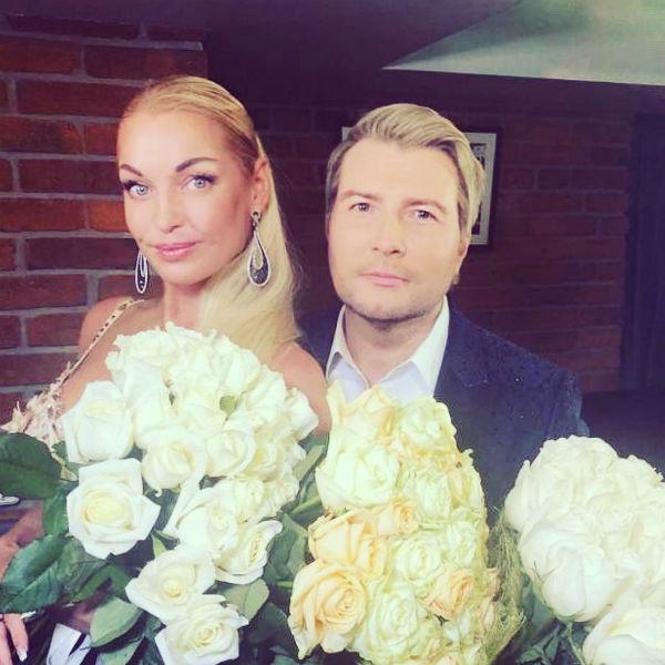 Анастасия Волочкова дружит с Николаем Басковым более 20 лет