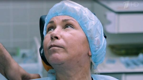Ксения Стриж на приеме у стоматолога