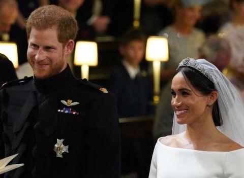 Свадьба года: Меган Маркл и принц Гарри обвенчались - ОНЛАЙН
