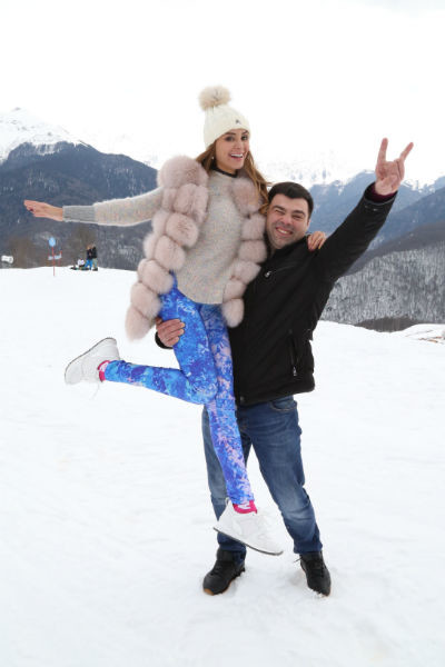 Анна Калашникова и Нико Неман