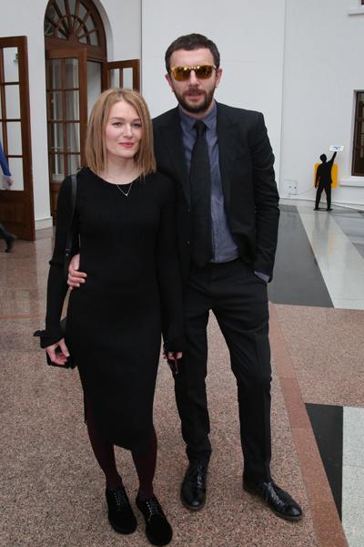 Толстоганова с супругом Алексеем