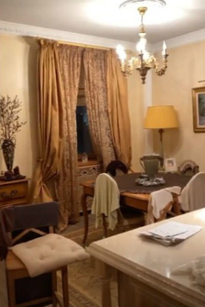 Певица занималась дизайном квартиры вместе с командой специалистов
