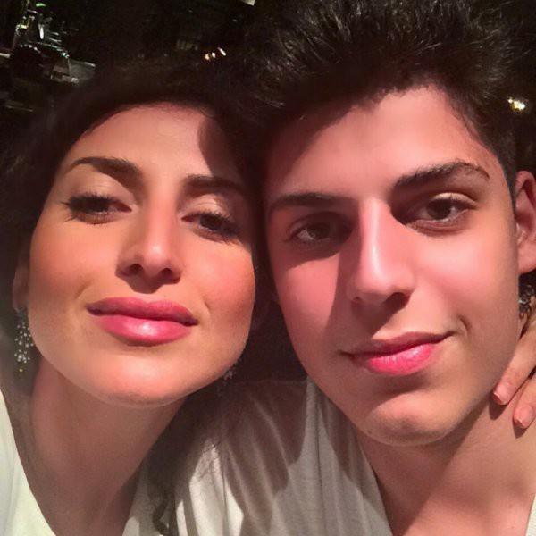 Жасмин с сыном от первого брака Михаилом