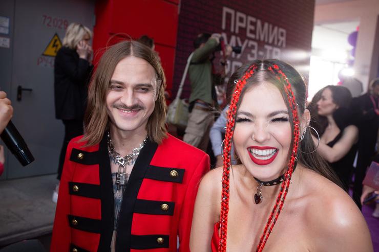 На премии МУЗ-ТВ звезды выглядели очень счастливыми