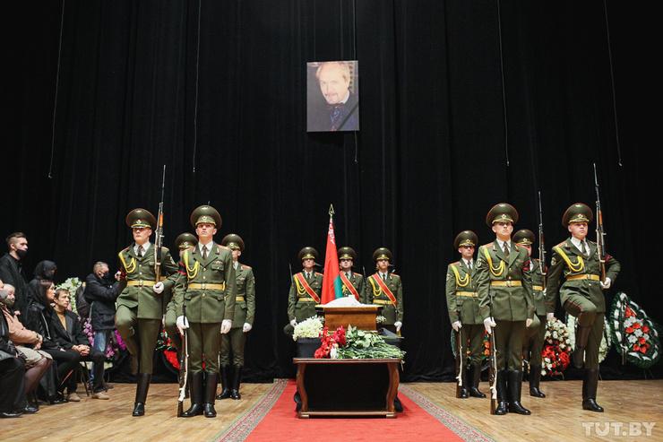 С артистом простились в филармонии Минска